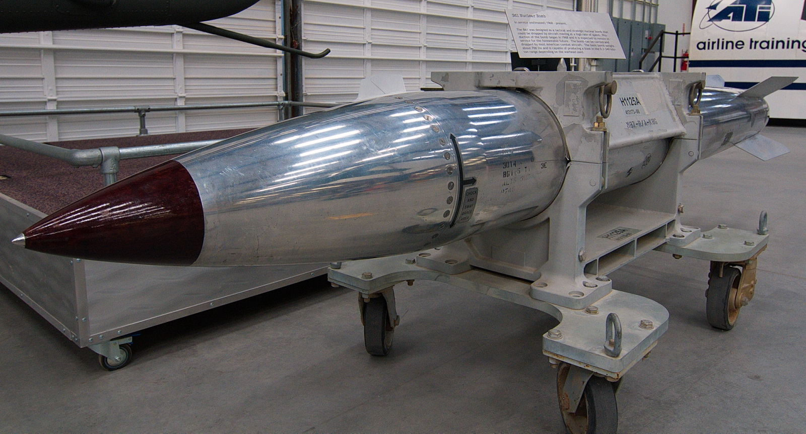 B61 nuclear bomb (training model)