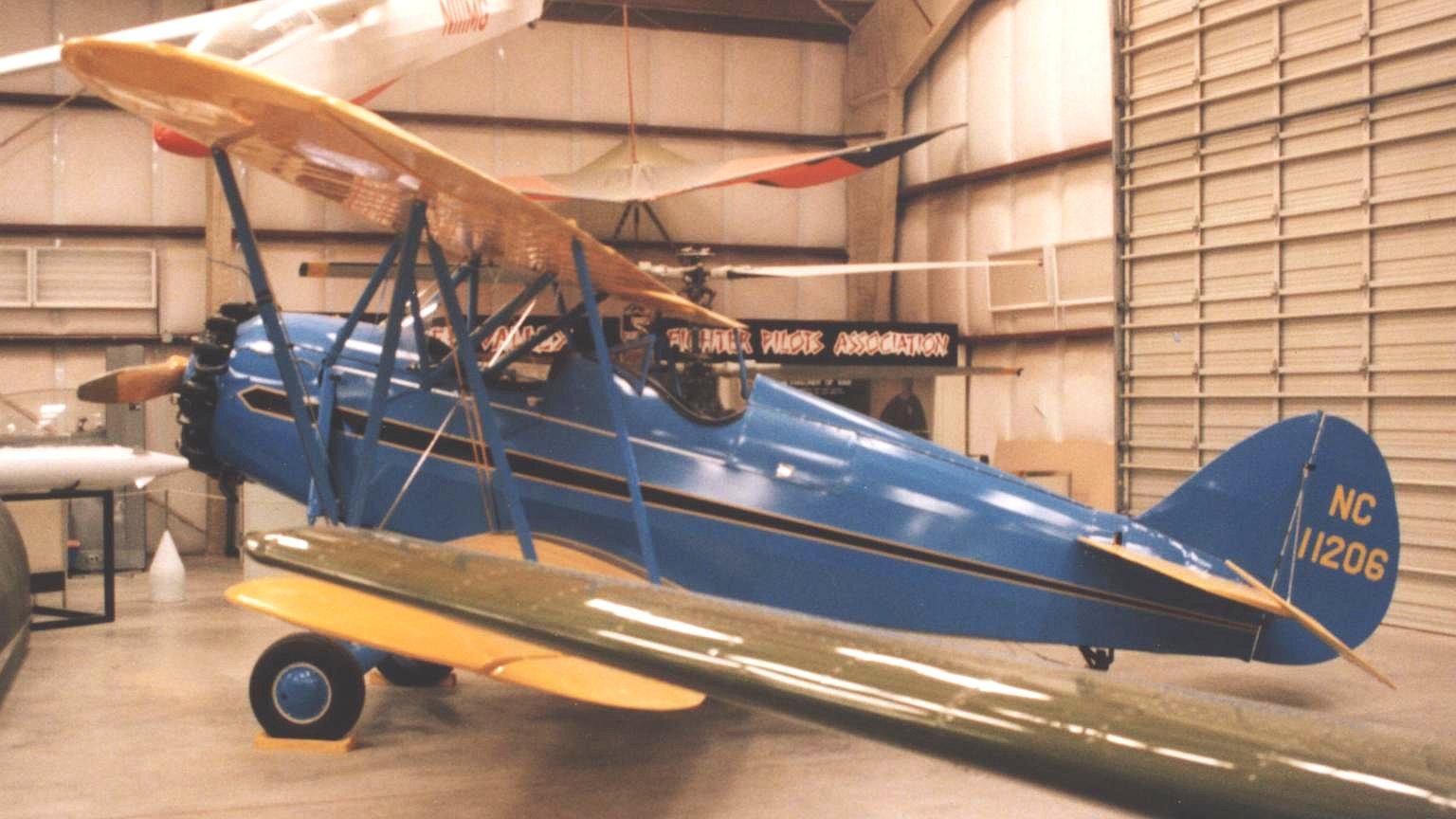 Waco RNF Biplane