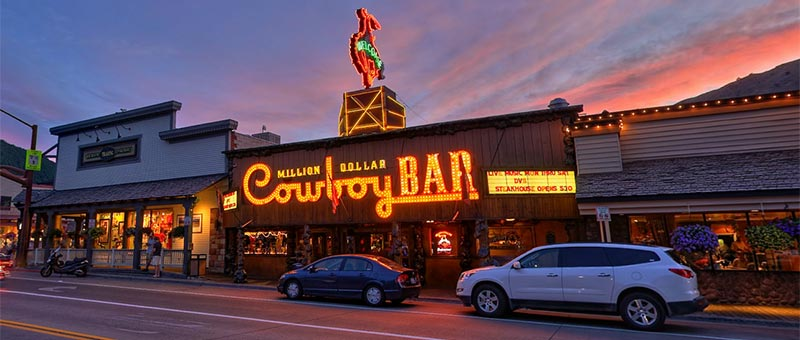 Million Dollar Cowboy Bar storefront