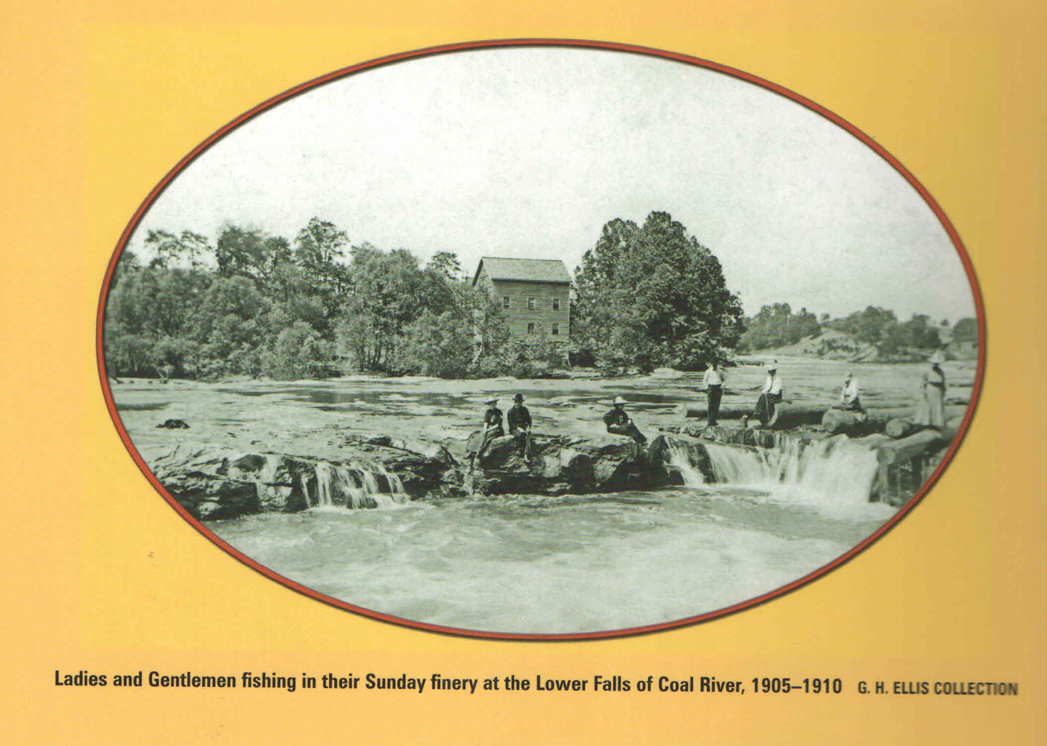 "Photo of Mill from Bill Dean's Book ""Coal, Steamboats and Trains""."