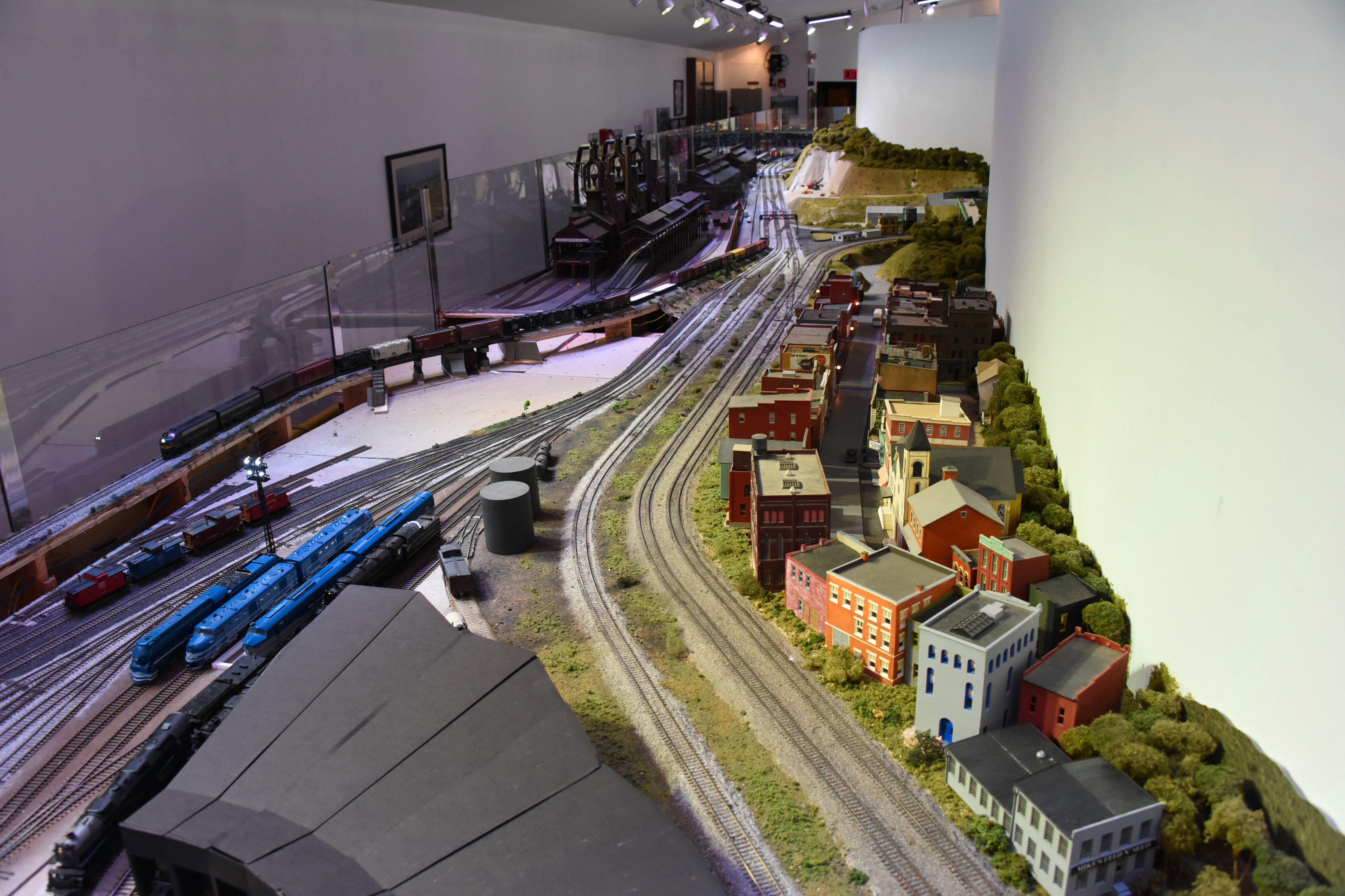 Now that's a big model railroad.