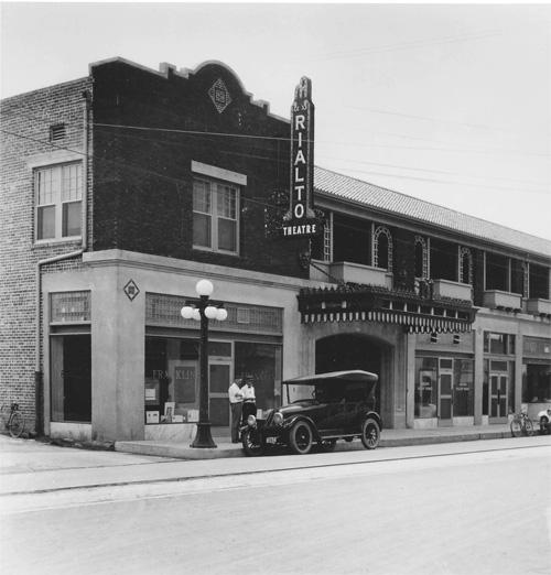 Historic photo of The Rialto Theatre