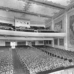 Another historic interior view of the theater