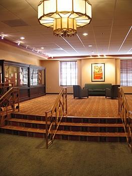 Restored lobby.