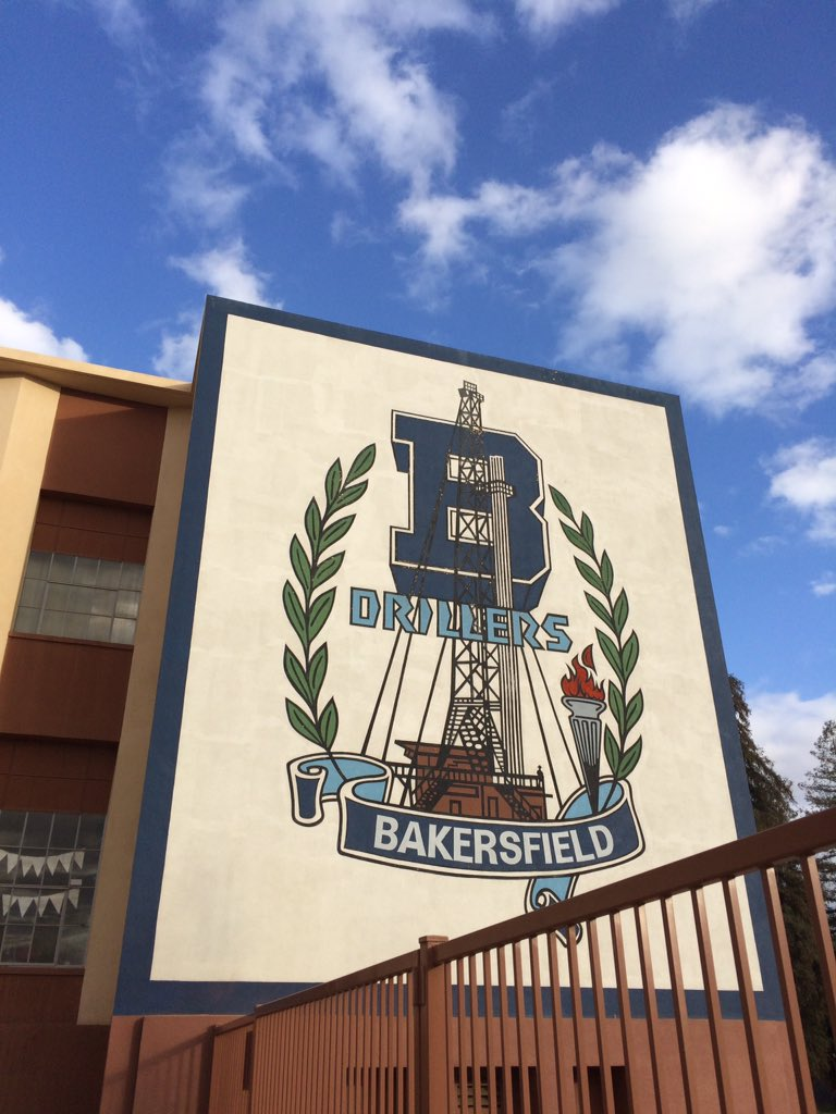Bakersfield High School Mural.