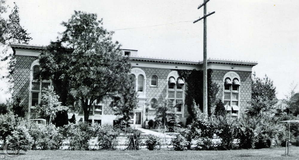 The Philena Apartments about 1935.