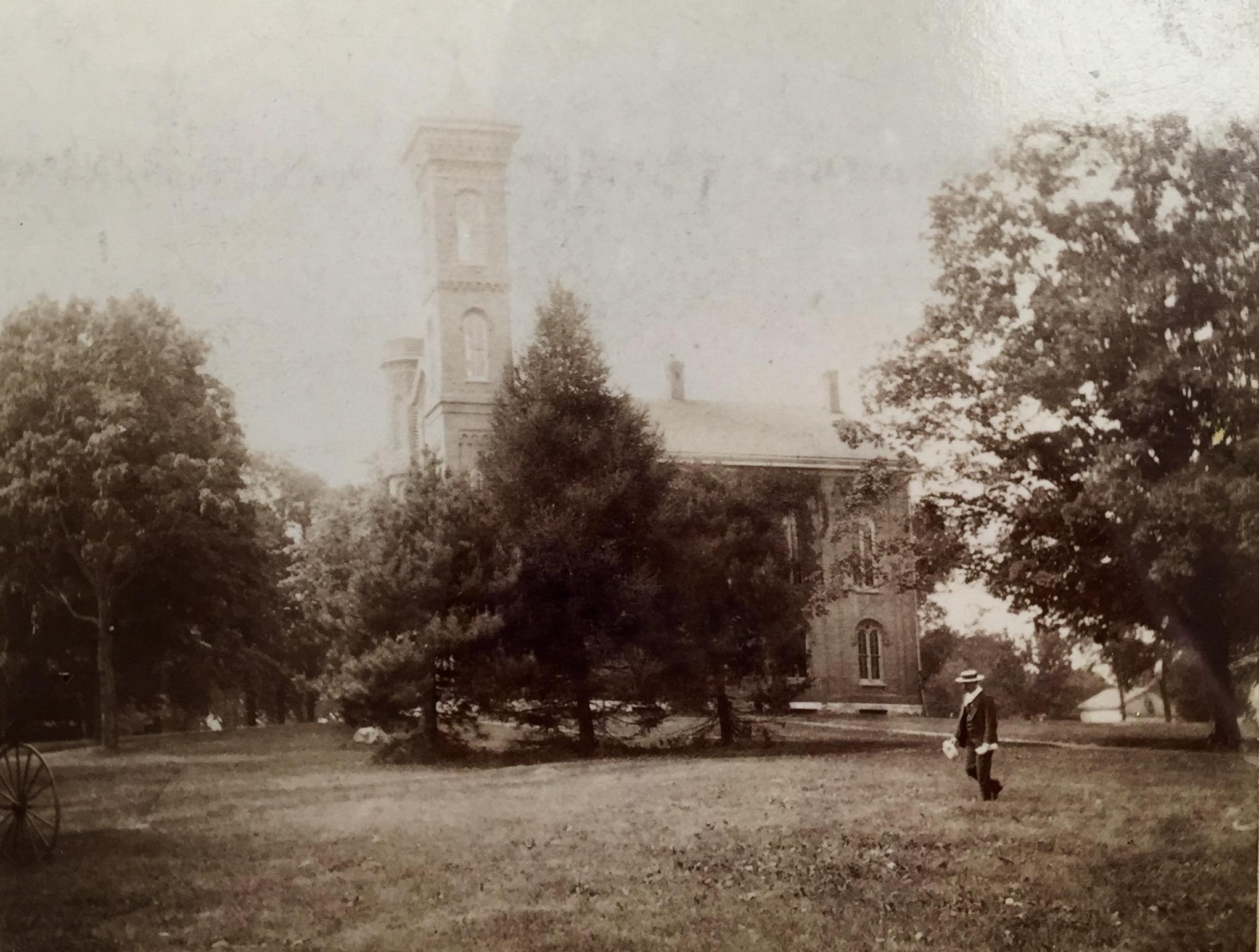 Sturtevant Hall in 1880