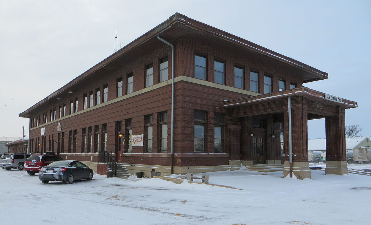 The depot, frontside, as seen today