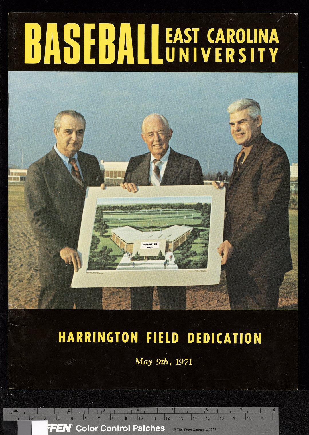 Harrington Field Dedication https://digital.lib.ecu.edu/17125