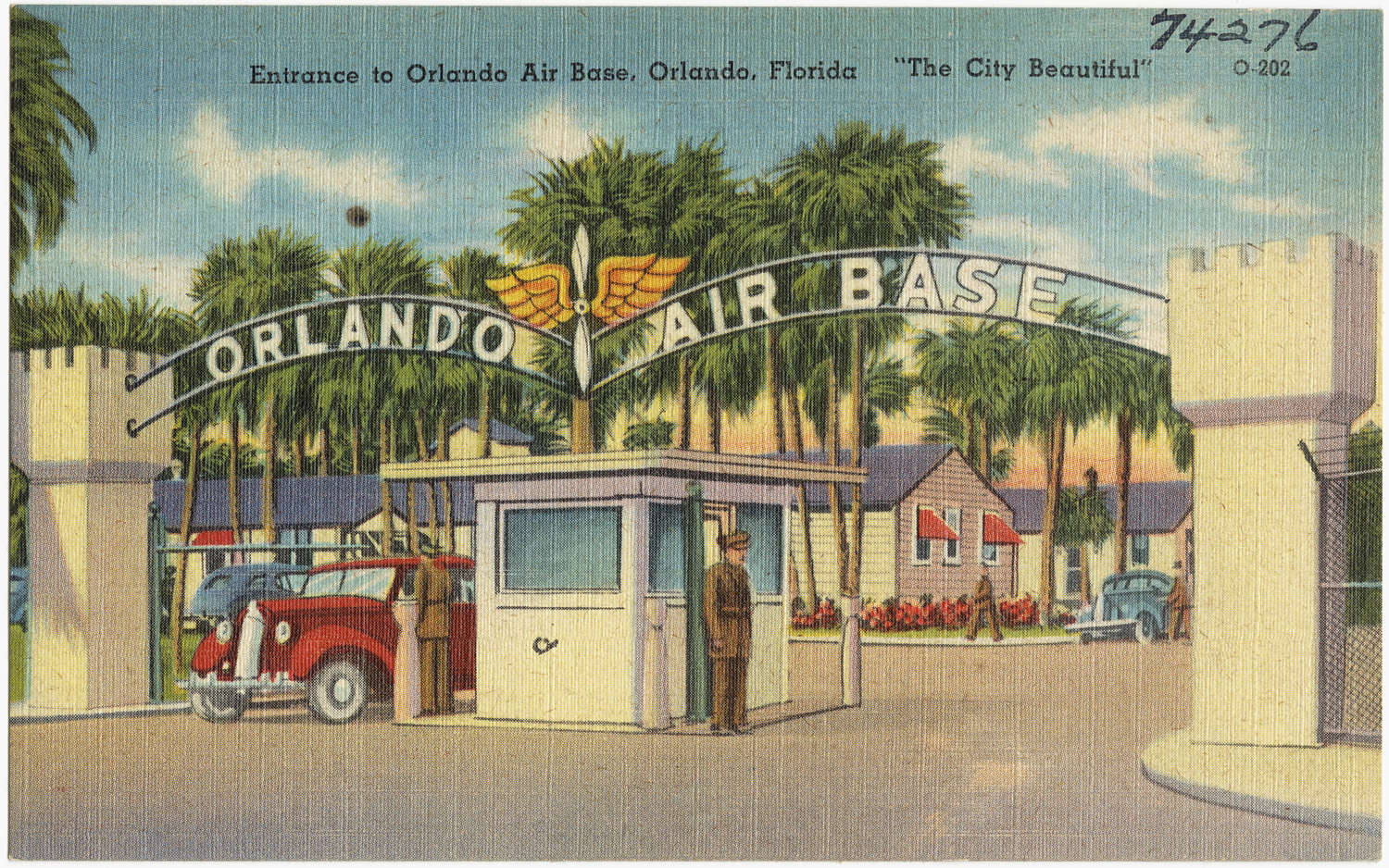 Entrance to Orlando Air Base