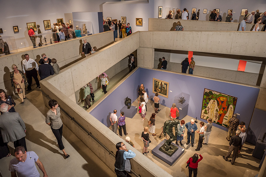 The museum's collection is comprised of American Art, Art of the American West, Latin American art, Folk Art of the Americas, and Modern and Contemporary art.