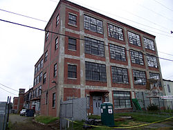 The Liggett and Myers Tobacco Company Warehouse today