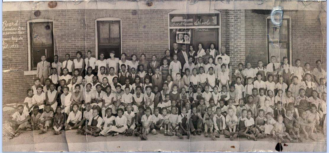 Students of Vernon School in 1939