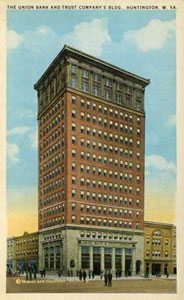 A Postcard of the West Virginia Building