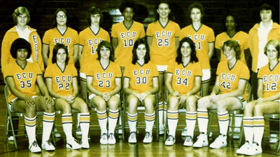 1976 Women's basketball team