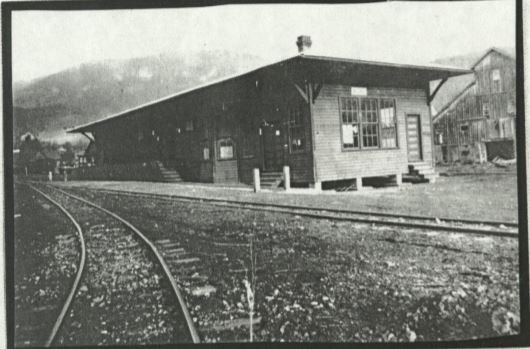 From 1917 to 1940, this building housed the maintenance station for Tweetsie Railroad.