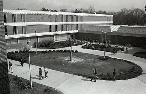 "A.J. Fletcher Music Center 1974 ""Fletcher Music Center."" ECU Digital Collections. Accessed November 22, 2016. https://digital.lib.ecu.edu/22872."