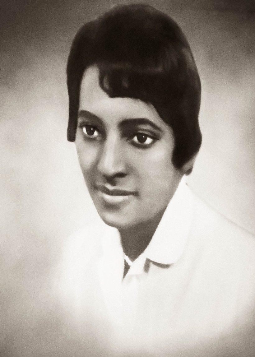 Painting of Ledonia Wright