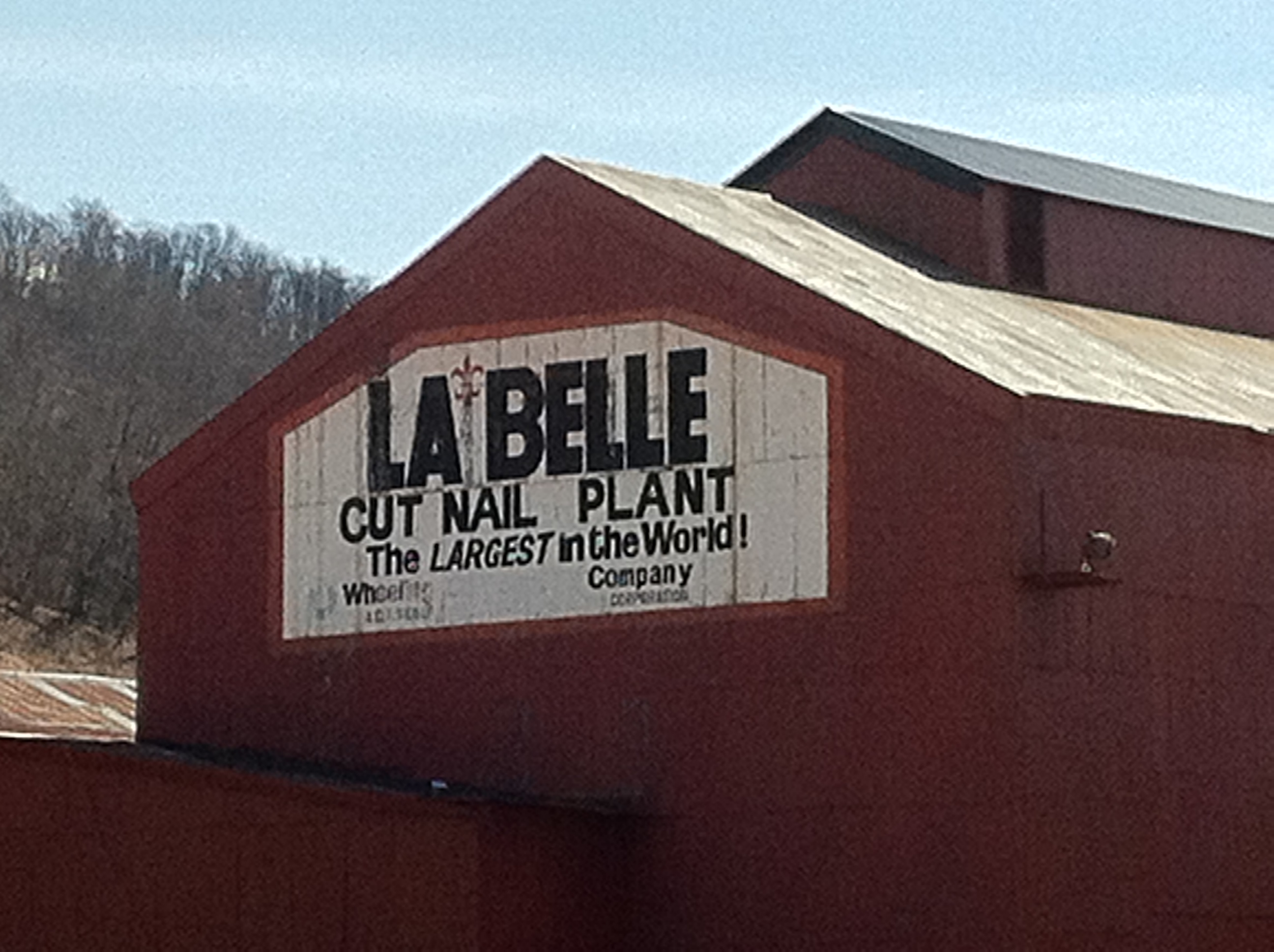 LaBelle Sign Painted on Building