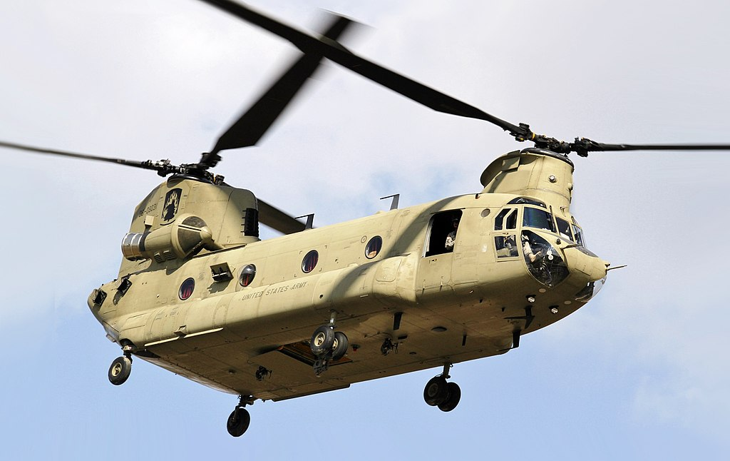 CH-47 Chinook Transport Helicopter