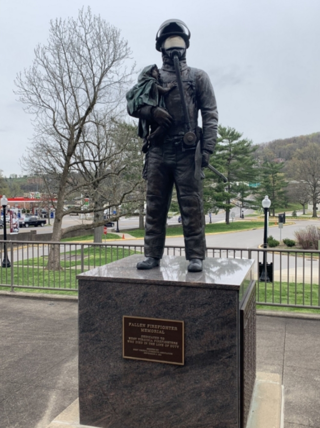 Sculpture, Helmet, Memorial, Monument