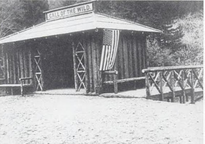 """""""Call of the Wild"""" station c. 1910 (image from Historical Marker Database)"""