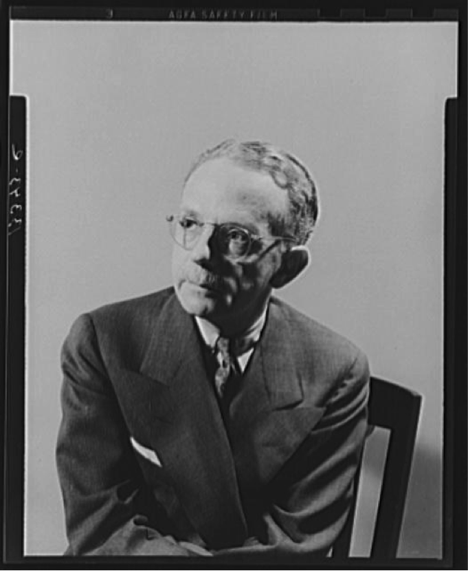 This is a Photograph of Walter Francis White – Executive Secretary of the NAACP from 1931 to 1955. He gave a speech in Corpus Christi following the desegregation of Del Mar college.