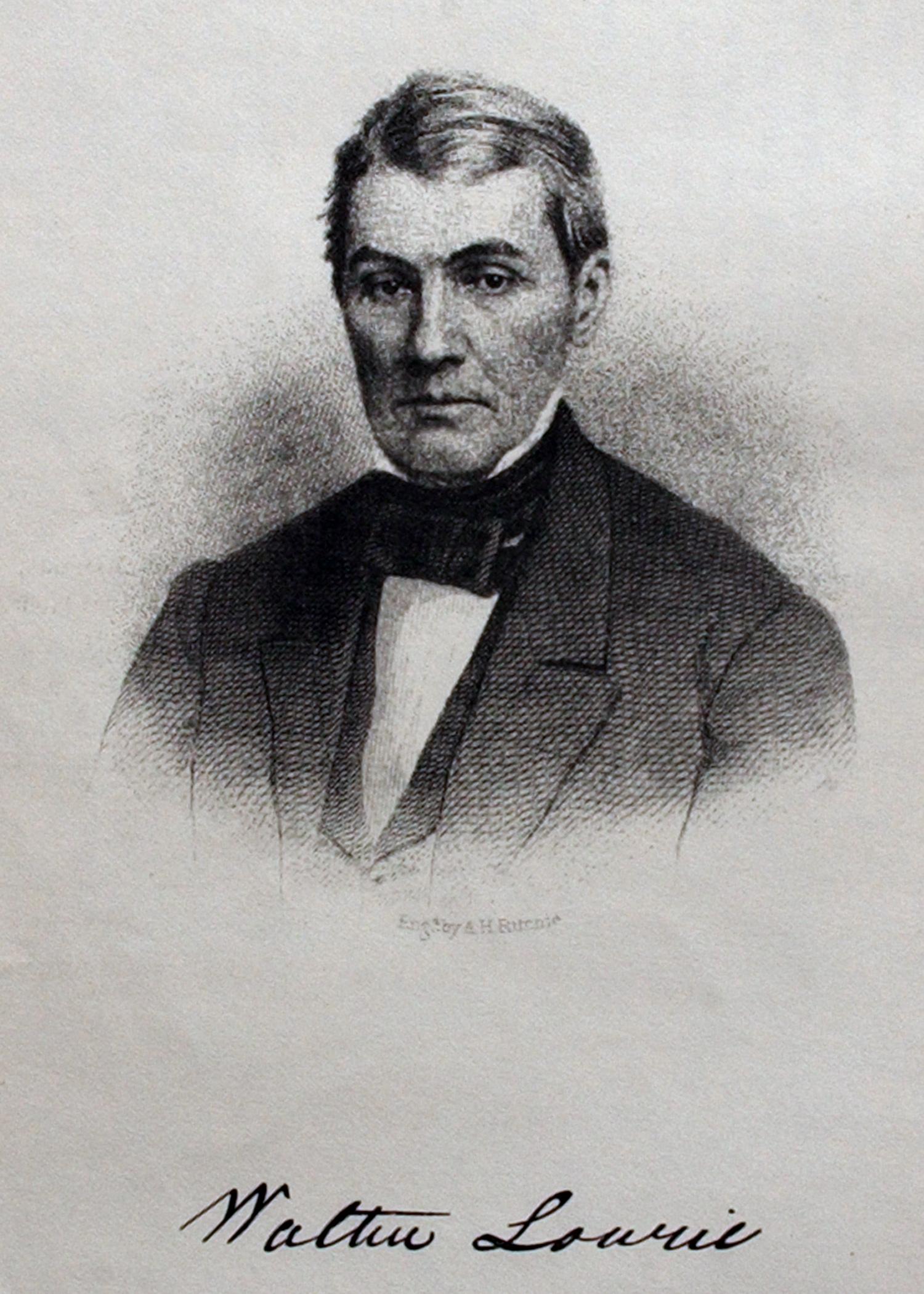 Senator Walter Lowrie