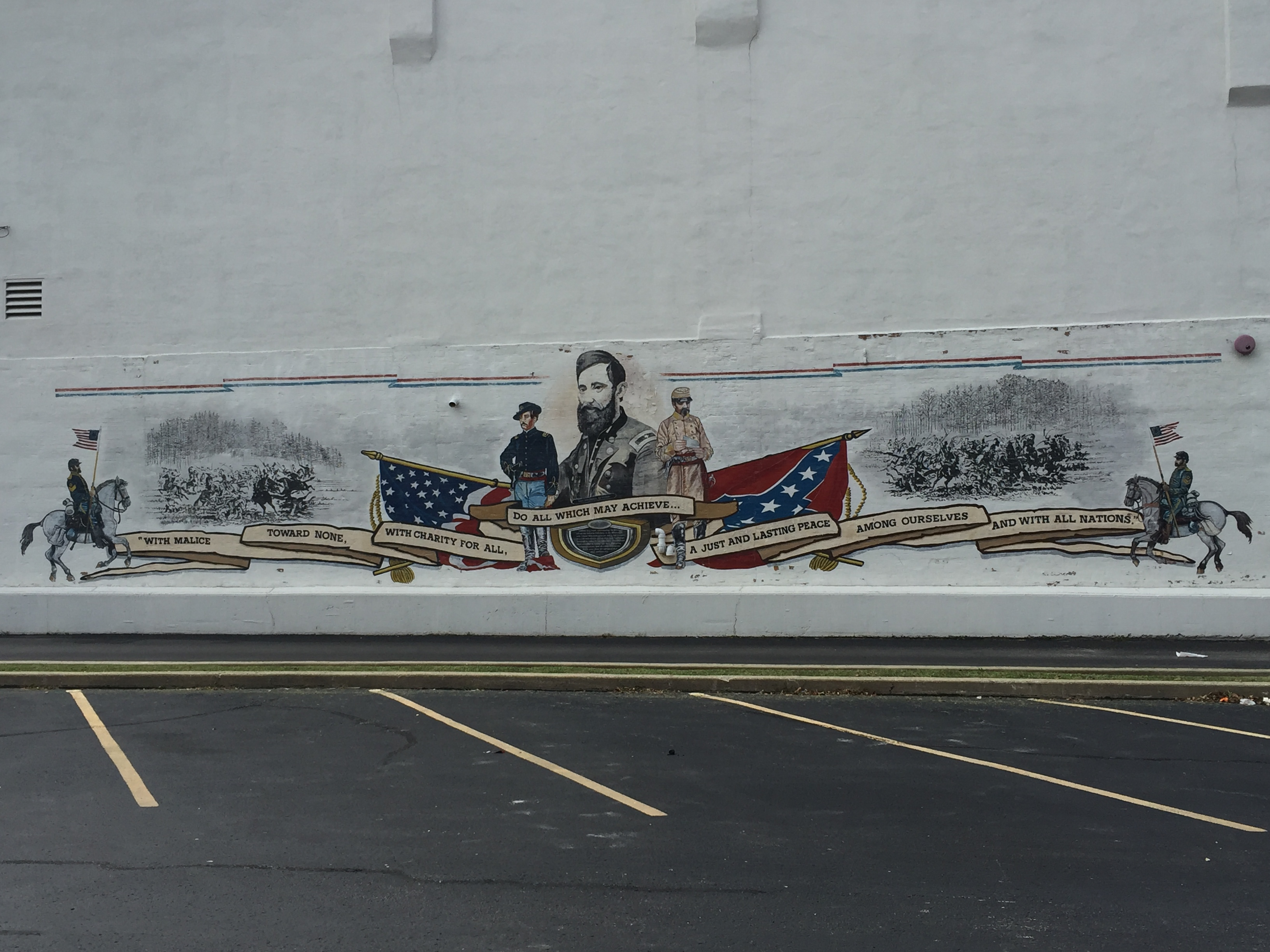General Benjamin Grierson Mural.