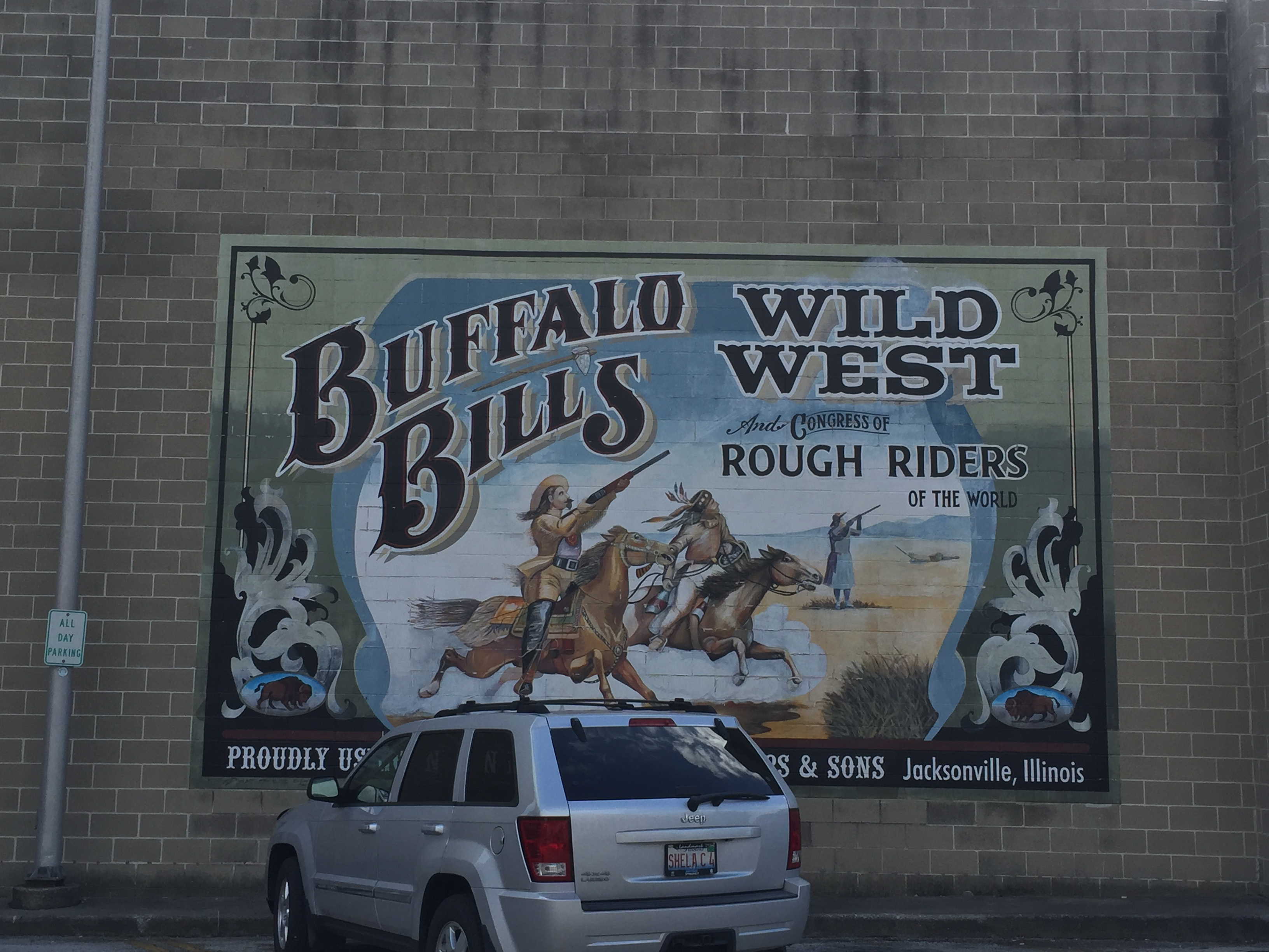 Buffalo Bill Mural.