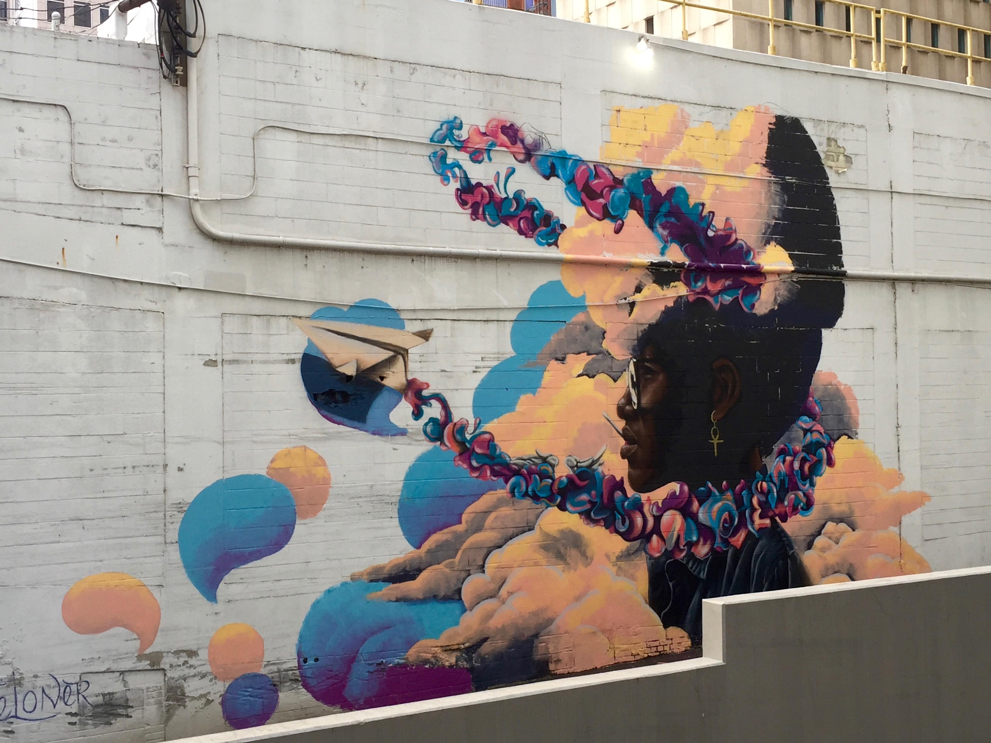 World, Azure, Art, Graffiti
