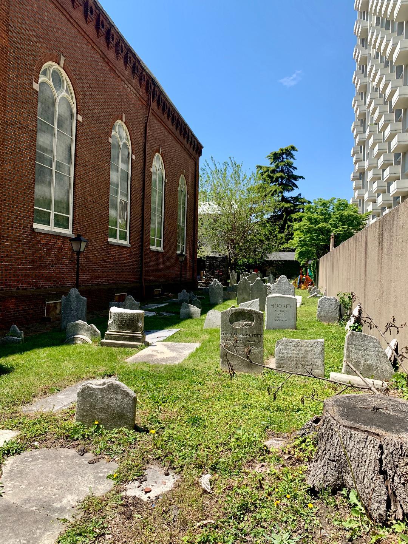 Holy Trinity churchyard, photo taken 2020