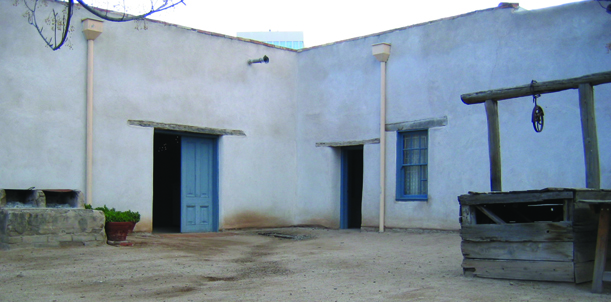 La Casa Cordova is the oldest adobe home in downtown Tucson.