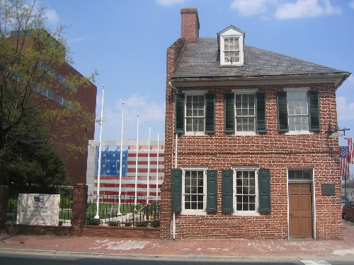 Full view of the Flag House & Star-Spangled Banner Museum