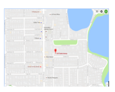 Google Maps was utilized to pin point the location of the historic Eastin House.