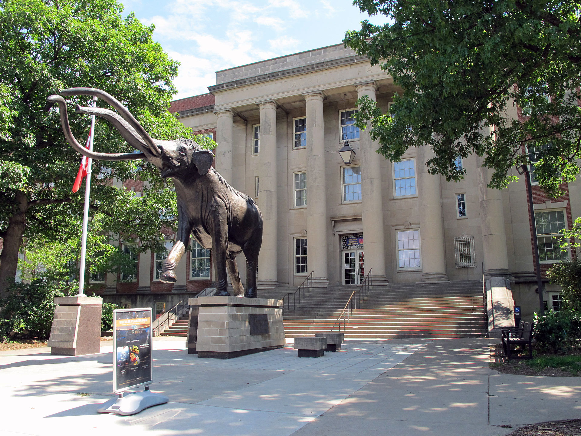 The University of Nebraska State Museum was established in 1871