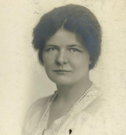 Photograph of Mary Elizabeth Pidgeon courtesy of Bryn Mawr College.
