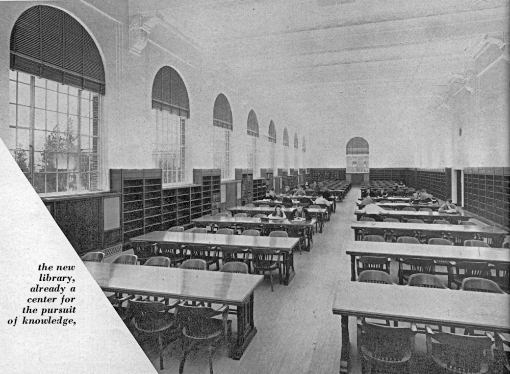 Original 2nd floor reading room