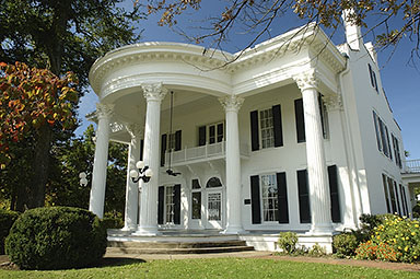 A restored traditional style Southern Antebellum mansion, Whitehaven now provides respite for travelers along the highway. It remains the only historic home that also serves as an interstate Welcome Center.