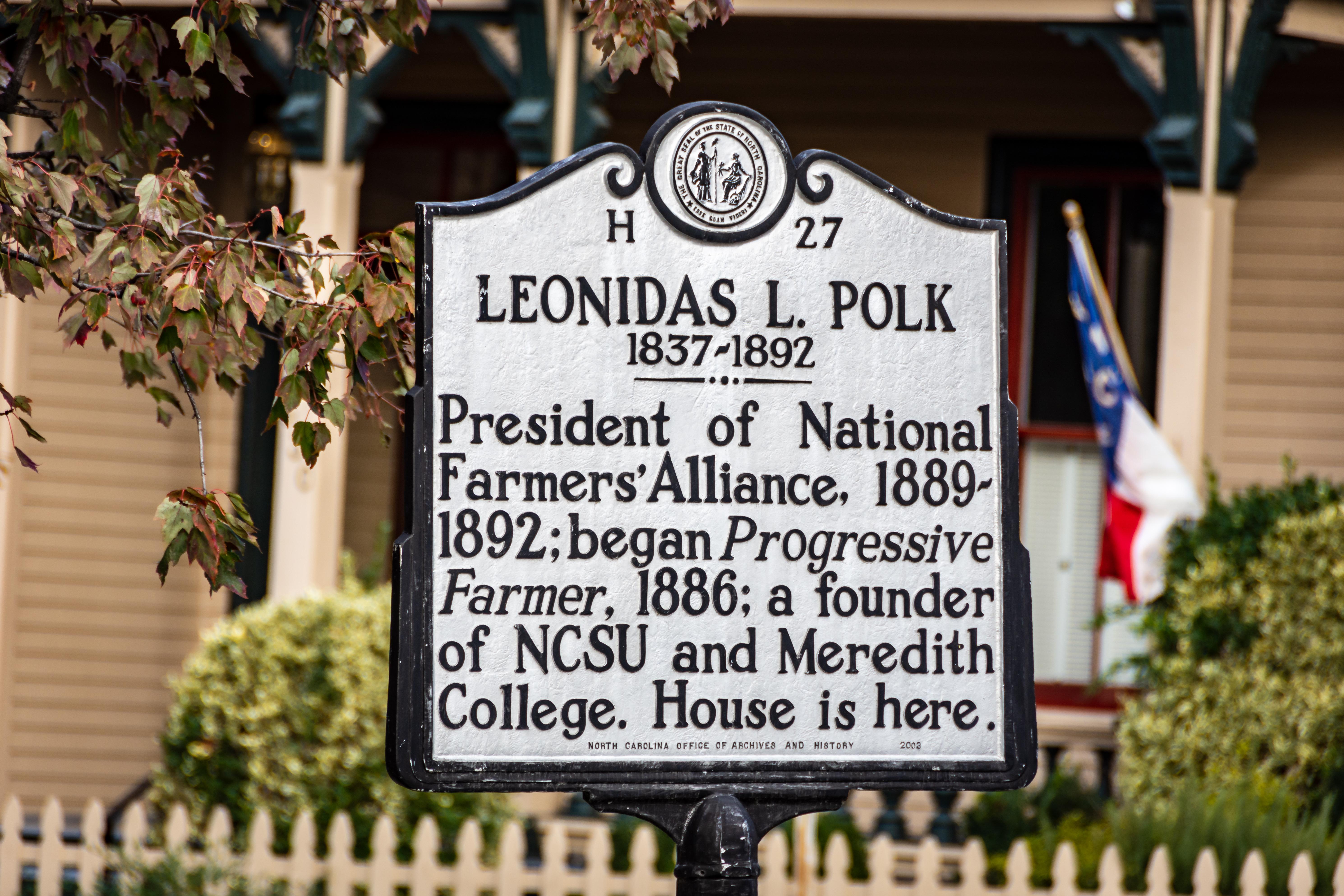 L.L. Polk Sign
