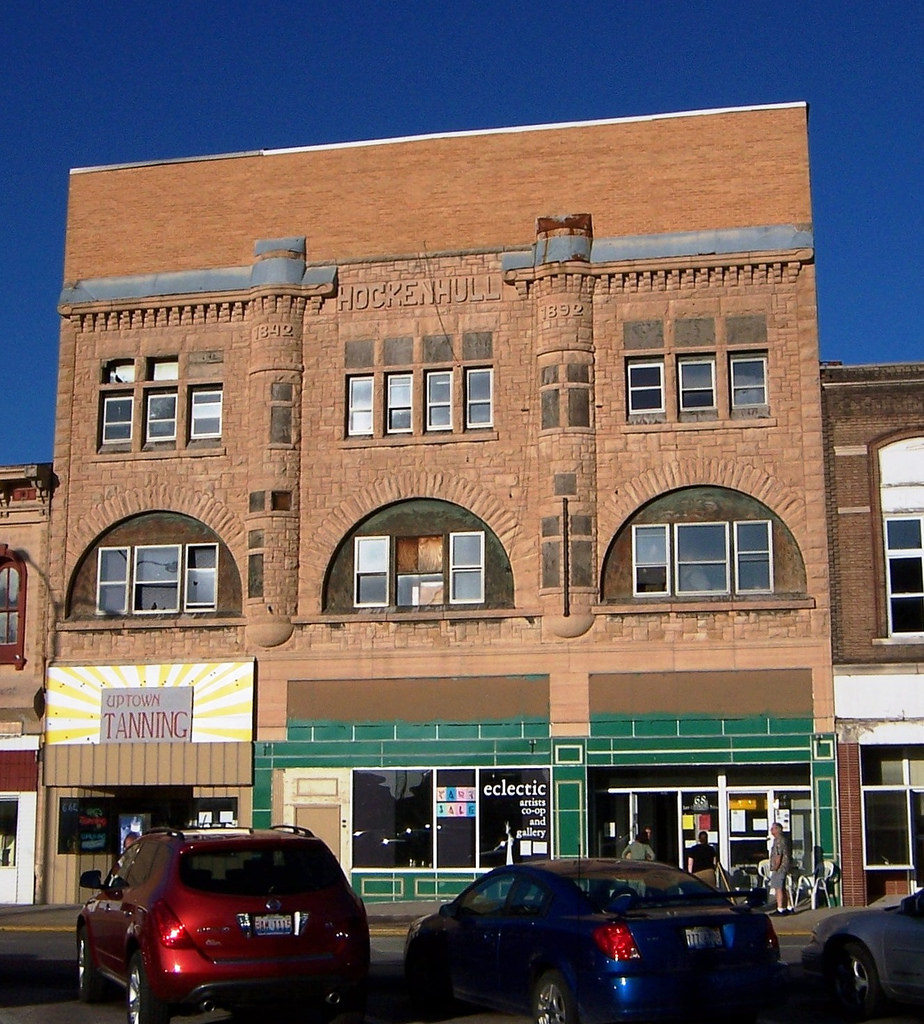 A recent picture of the Hockenhull Building on the Square.