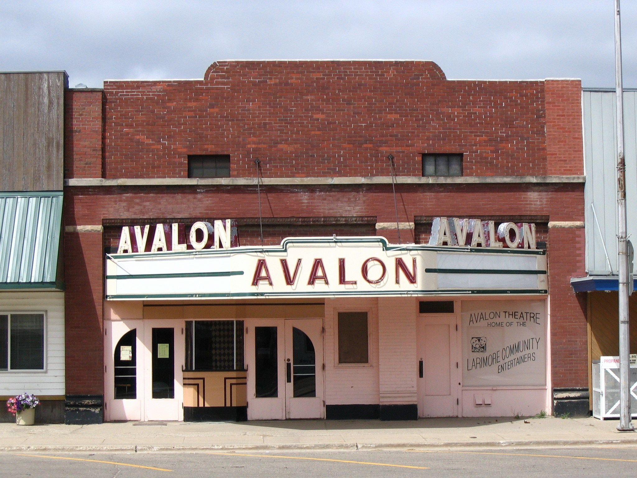 The Avalon as it looks today