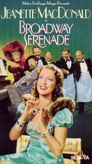 Video cover of the 1939 film, Broadway Serenade. This was the first film played in the Avalon.