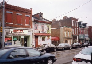 Exterior of Eddie's Restaurant (1998)