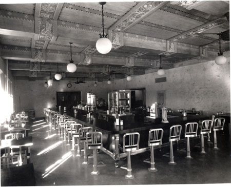 The space was originally a University diner called the Chuck Wagon, which dates back to 1933