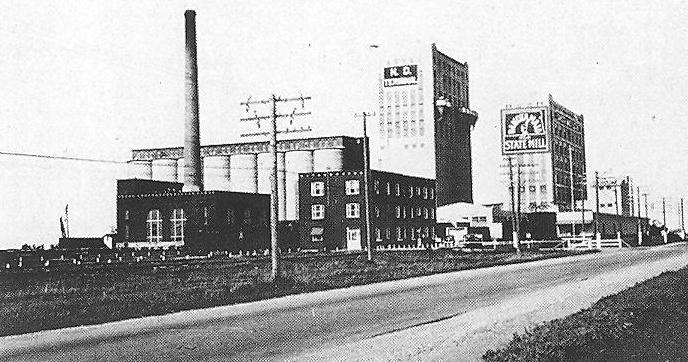 1939 photo of the Mill. Photo courtesy State Historical Society of North Dakota