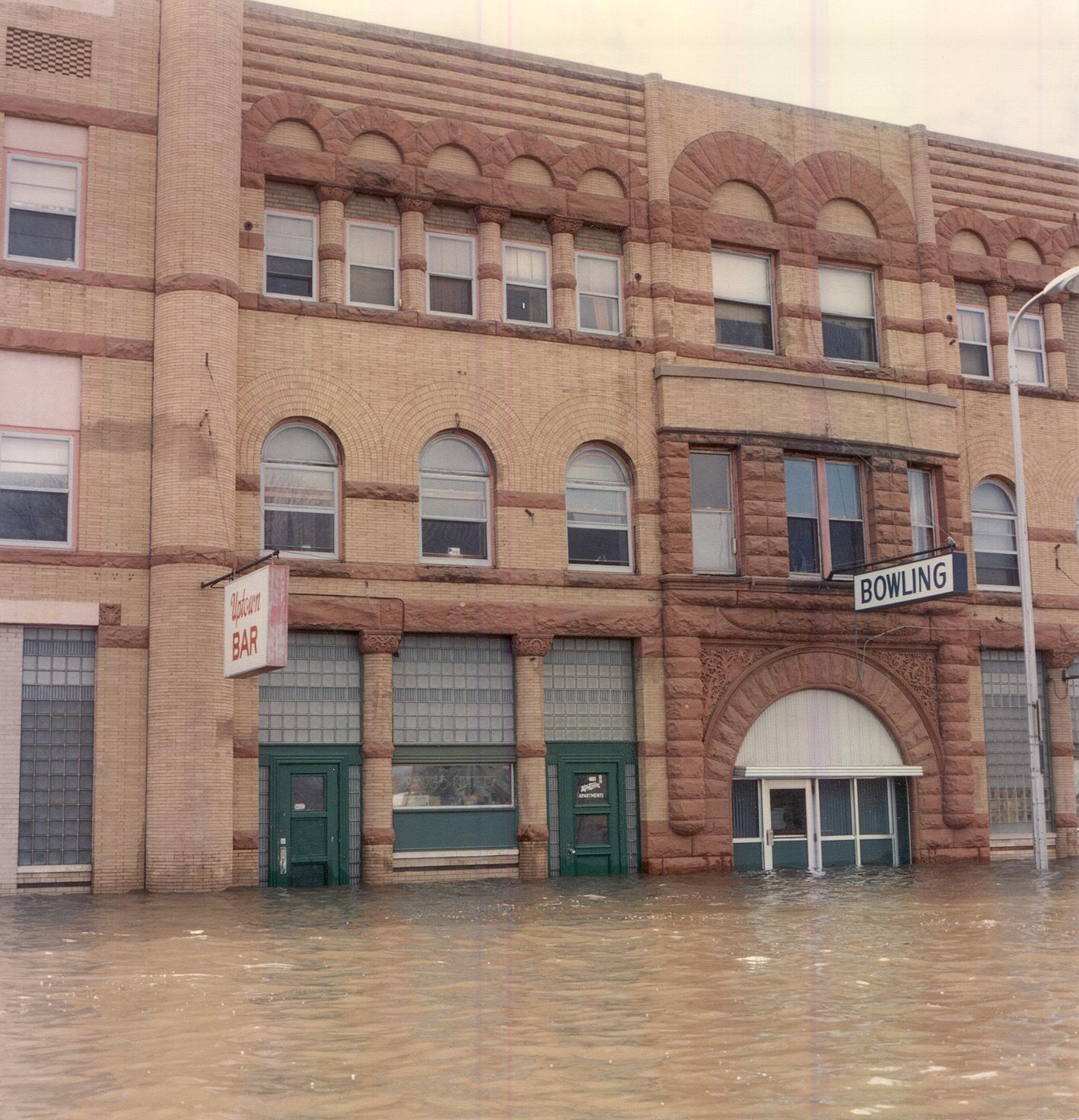 Metropolitan Opera House during the 1997 Red River flood