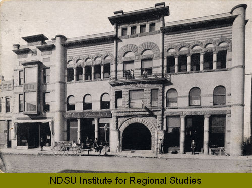 Metropolitan Opera House in 1897. Photo courtesy of the North Dakota State University Institute of Regional Studies.