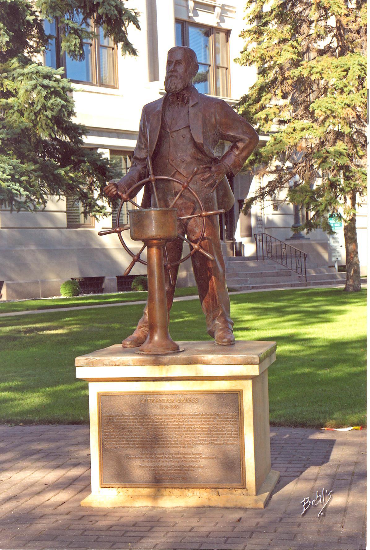 Captain Alexander Griggs Statue