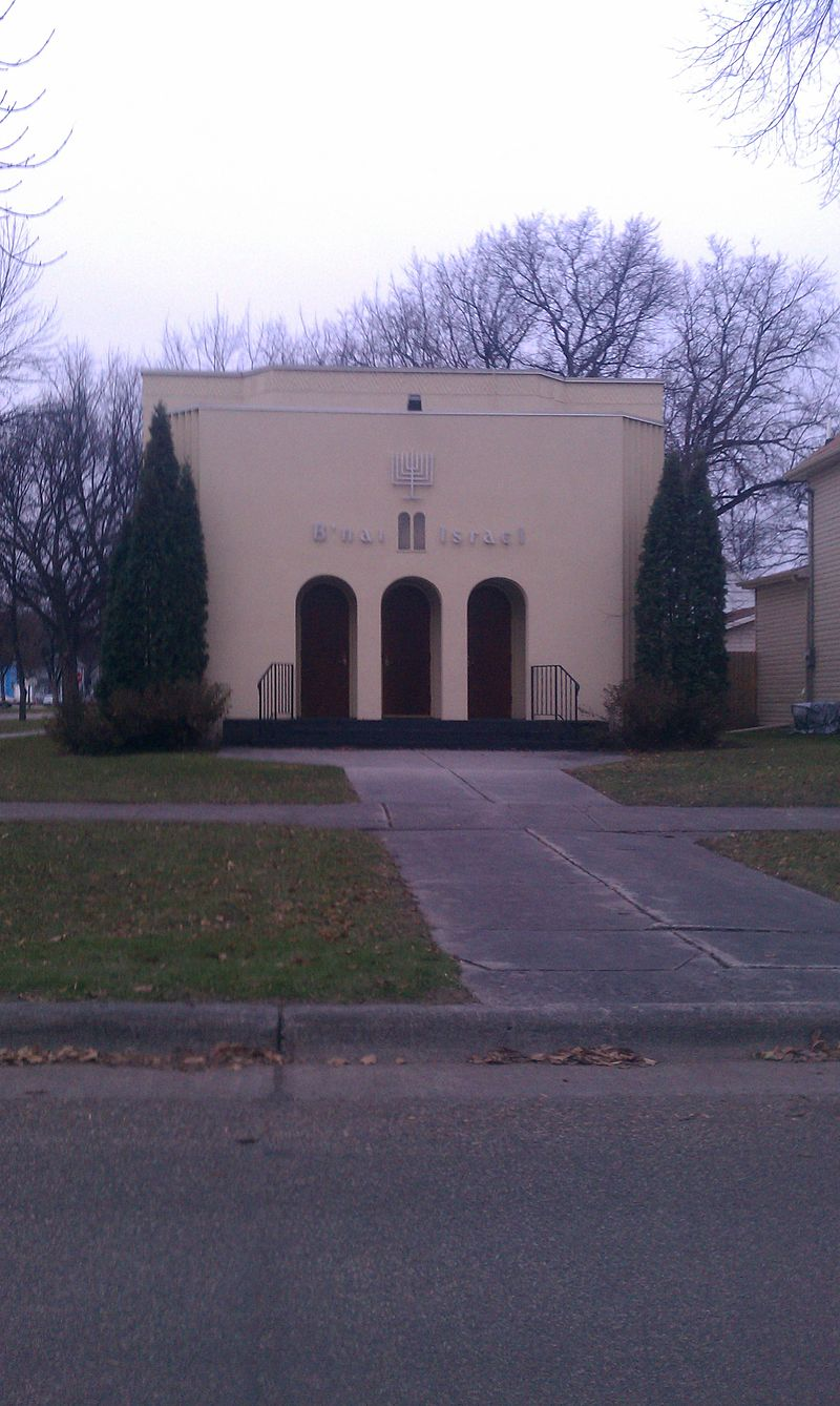 The 1937 synagogue as it appears tofay
